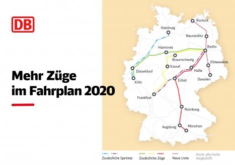 Deutsche Bahn Mehr Züge Im Fahrplan 2020